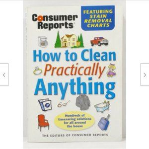 How to Clean Practically Anything Book 0757E1M